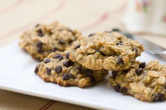 Peaceful Plate Banana, Oatmeal, & Chocolate Chip Cookies - Peaceful ...